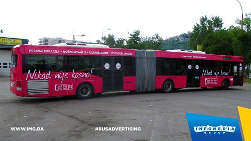 Info Media Group - Centar za obrazovanje, BUS Outdoor Advertising, 05-2015 (2)