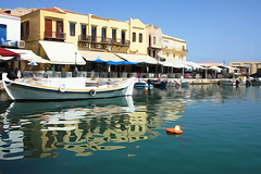Rethymnion Old Harbour 2015_02 (Jan Thomas Landgren) Tags: travel vacation harbour outdoor sony kreta greece crete watercolour resor oldharbour grekland watercoloureffect rethymnion sonya77ii sonyilca77m2 sonya77mark2