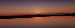 Specchio (Enrico Cusinatti) Tags: acqua arancione cielo enricocusinatti italy italia liguria mare minimalismo orizzonte sea sky sunset travel viaggi vacation