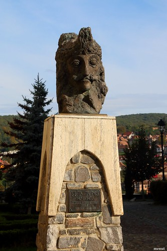 Sighisoara: En en honor a en Vlad Tepes - Romania - Sighisoara: In memory of Vlad Tepes