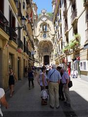 Iglesia de Santa Maria, old town, San Sebastian!