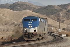 Sunset Limited at El Casco, CA (Travis Berryman) Tags: unionpacific beaumonthill uprr upyumasub desertrailroading