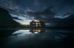 Reflections of Icelandic life (a.lee.miller) Tags: ifttt 500px iceland night reflections waterfalls winter water sunset dusk no person dawn evening outdoors travel sky landscape reflection nature light