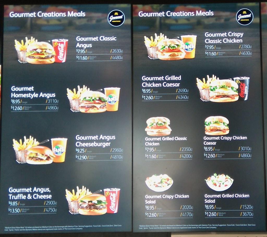 List Of Ingrediants In Mcdonalds Food