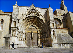 Basilica de Santa Maria la Mayor....... (atsjebosma) Tags: basilica santamarialamayor spain spanje morella gothic baroquefacade 13th14thcentury