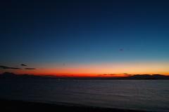 DP1M3591 有明海残照 Ariake Bay Sunset (Keishi Etoh rough-and-ready photoglaph) Tags: sigma dp1m sigmadp1merrill dp1 dp1merrill foveon 28mm 広角 大牟田 有明海 ariakebay omuta sunset