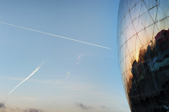 welcome on earth (johann walter bantz) Tags: ciel clouds sky geode villette parc paris detail imagination early morning nikon d4s 85mm