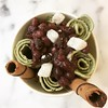 It's raining outside but not ❄️ so green tea ice cream rolls with red beans and mochi it is! (thisgirlangie) Tags: its raining outside but ❄️ green tea ice cream rolls with red beans mochi it is