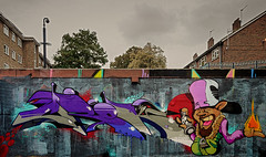 Crok / Wrist. (Suggsy69) Tags: nikon graffiti art d5100 crok wrist stockwell london