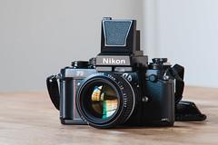 DW-3 (tomknier) Tags: nikon f3 dw3 waist level finder 35mm analog lensporn cameraporn nikkor