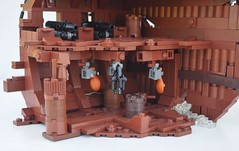 TT:R1: Something Valuable... (W. Navarre) Tags: lego potc pirates pirate ship wreck shipwreck brown tourney tt r1 cabin captain deck cannon