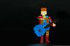 """8. 1972 - """"Starman"""" (Brickwright) Tags: bowie lego miniland minilanders david ziggy stardust"""