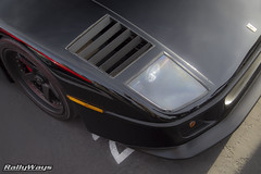 One Black Ferrari F40 (RallyWays) Tags: motor4toys ferrari ferrarif40 f40 superexotic rallyways rallywayscollective dannycruzcreations