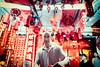 Red Space (Jon Siegel) Tags: nikon d750 24mm sigma sigma24mmf14art sigma24mmf14 sigma24mm 14 chinatown chinese singapore singaporean man people working night evening mysterious mystery street candid