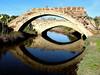 ponti (Ester Milanese (Yomi)) Tags: ponti ponte calasetta sardegna sardinia italia italy fiume river bridge view reflection reflections riflessi allaperto