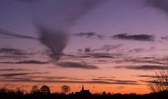 Sonnenuntergang in Datteln (kaistaudinger) Tags: sunset sun nacht abend night landschaft datteln recklilnghausen nrw germany sonne wolken canon 700d tamron 18270mm