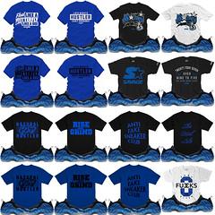 Royal Foamposites shirts match sneaker tees matching clothing (XGEAR101) Tags: royal foam foamposites shirt tees tee match matching clothing clothes tshirt