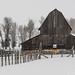 Barn in Snow (James Neeley) Tags: idaho tetonvalley barn jamesneeley