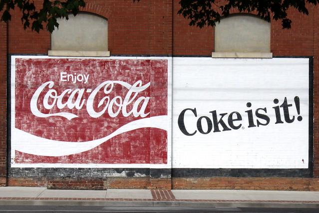 Coca-Cola mural - Rome, GA
