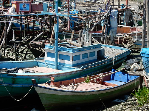 Dinghy and Fishing Boat