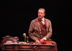 Paul Schoeffler as Henry Higgins in My Fair Lady, produced by Music Circus at the Wells Fargo Pavilion June 9-14, 2015. Photos by Charr Crail.