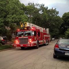 HFD Ladder 16 (ADL_EMT) Tags: red truck fire firetruck ladder apparatus spartan hfd fireapparatus redfiretruck houstonfire station16