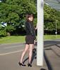 Sunlit Seams (Starrynowhere) Tags: public stockings outside legs crossdressing tgirl tranny transvestite heels crossdresser crossdress transvestism crossdressed seamedstockings dressedasagirl starrynowhere wearingwomensclothes emmaballantyne
