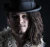 BEN 1940s HAT FLICKR (CJs STUDIO) Tags: portrait colour male hat youth dark hair studio model eyes mood moody different ben handsom