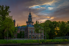 Nijenrode HDR Breukelen The Netherlands (markschoonderwoerd) Tags: breukelen kasteel vecht straatweg nijenrode nyenrode