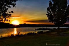 SEE YOU SOON ... (Aspenbreeze) Tags: sunset lake reflection water night rural reflections evening twilight sundown dusk summerevening aspenbreeze moonandbackphotography bevzuerlein