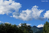 Clouds above mountains (PurpleTita) Tags: blue trees summer sky italy mountain nature montagne canon torino italia natura piemonte turin piedmont vallidilanzo eos1100d