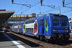 SNCF Transilien RER C 24C 5646 - 5647 (Will Swain) Tags: travel france train de french europe gare c south transport platform july rail railway des east 10th railways franais socit parisian fer rer sncf nationale transilien 2015 chemins 24c 5646 5647 choisyleroi