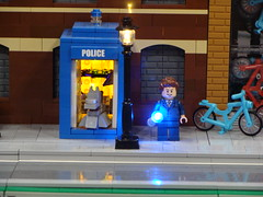Brickworld Chicago 2015 (Thule87) Tags: lego doctorwho tardis minifigure brickworld brickworldchicago