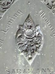 Grave Art (theeternalrose) Tags: flowers roses art rip gravestones inlovingmemory graveart
