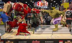 Comic Con 2015 044 (Bill Lehecka) Tags: california canon eos raw lego sandiego ironman veronica hulk cci avengers sdcc 2015 comicconinternational sandiegoconventioncenter 70d hulkbuster