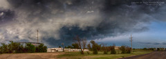 (Chains of Pace) Tags: storm oklahoma windmill clouds rural landscape country guymon