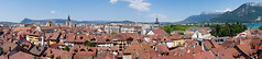 rooftops (sabrandt) Tags: city panorama lake france annecy europe rooftops rhonealpes