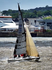 Ahoy there! (Don Moss (Liverpool)) Tags: liverpool boat sailing rivermersey