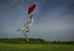 Levitation Betsy (1 of 1) (b_wilson) Tags: umbrella flying levitation