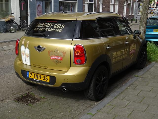 netherlands gold utrecht nederland mini smirnoff 2015 countryman minicountryman sidecode8 7tnh35