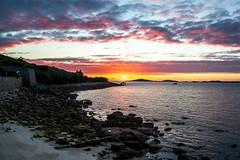 Scilly Sunset (nds6346) Tags: ocean sunset sea seascape coast seaside nikon outdoor coastline scilly nikond40