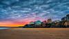Tenby sunset (technodean2000) Tags: nikon d610 lightroom west wales pembrokeshire pembroke coast uk sand water seasky outdoor