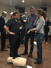 Defibrillator Introduction & CPR Training