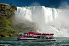 Hornblower passes Niagara (Bob Gundersen) Tags: bobgundersen gundersen robertgundersen nikon nikoncamera nikond600 d600 niagarafalls ontario canada interesting image indoor outside outdoor exterior photo picture places people scenes shots scene landscape boat ship water waterfall river