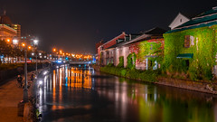 otaru canal (Flutechill) Tags: otaru otarucanal hokkaido japan city cityscape citylife urban architecture night nightscape travel tourist landm landmark longexposure landscape