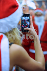 Photographing Santa, Photographing Santa (cloudwalker_3) Tags: beard british celebration cheerful christmas costume customs december england english fancydress fatherchristmas females festive festivity flashmob furs gathering greatbritain grinning grins hats headgear holiday image iphone joy london males man men merry nicholas noel outfit party people persons phone photo photograph pic picture red reindeer santaclaus santacon season seasonal smile smiling tradition traditional uk unitedkingdom white winter woman women xmas yuletide
