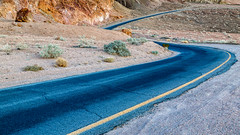 Curves and Colors (Kirk Lougheed) Tags: artistdrive artistsdrive california deathvalley deathvalleynationalpark usa unitedstates desert landscape nationalpark outdoor road