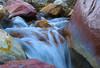Ripple  Creek (Pete Foley) Tags: whyimovedtovegas lasvegas nevada redrock silk silkwater waterfall creek desertwater redrocks stream hiking landscape snowmelt raininthedesert