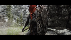 Skyrim Project + Reality (Gamesbaul) Tags: skyrim bethesda stunning visual natural real enb mod reality steam pc nvidia women player character amazing colorful colors wild nature cave light dark shadow game videogame oblivion elderscroll armor sexy redhead wildlife houses streets sword epic gorgeous face beautiful fondo negro pretty best views scenery snow blizzard dragons darkness warrior shield detail borde para fotos