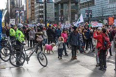 Women's March on Washington - Vancouver (luke.me.up) Tags: vancouver protest womensmarch trump nikon d810 2470 women march
